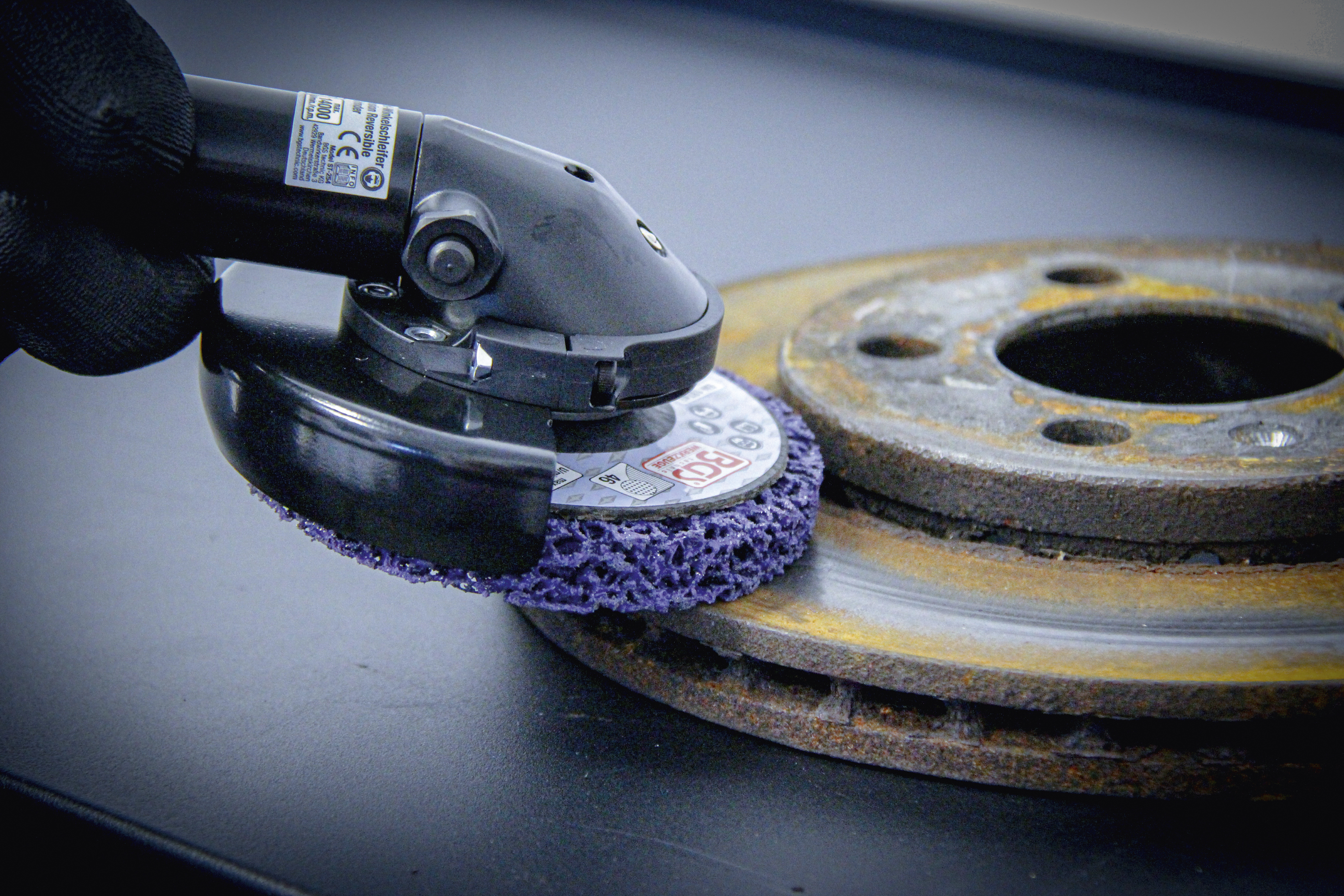 Abrasive Grinding Wheel | black | Ø 100 mm | 16 mm mounting hole